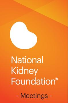 NKF Meetings poster