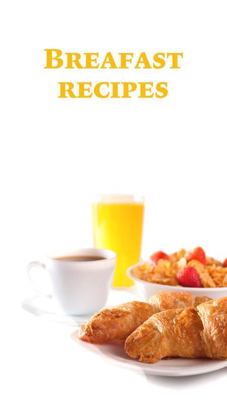 Breakfast food recipes apk download free food drink app for breakfast food recipes poster forumfinder Images