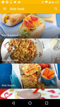 Recipes for Kids - Free! poster