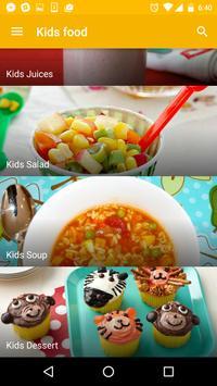 Recipes for Kids - Free! apk screenshot