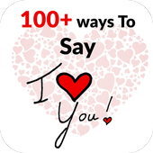 100+ ways to say I love you !! icon