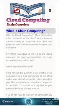 Cloud Computing Basic Overview apk screenshot