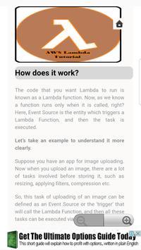 Guide for AWS Lambda screenshot 1