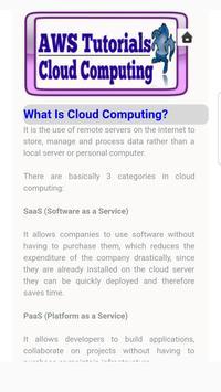 AWS Tutorials for Cloud Computing screenshot 1