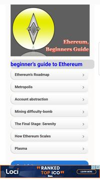 Beginners Guide for Ethereum poster