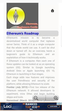 Beginners Guide for Ethereum screenshot 1