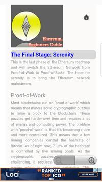 Beginners Guide for Ethereum apk screenshot