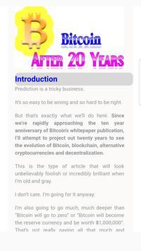 BitCoin Next Twenty Years poster