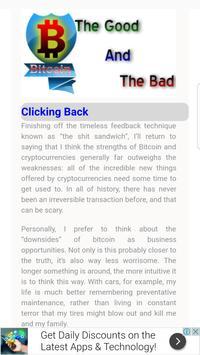 Bitcoin Good Vs Bad screenshot 2