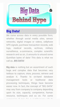 Big Data Behind Hype Tutorials screenshot 2