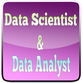 Data Scientist VS Data Analyst icon