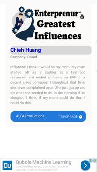 Entrepreneurs Greatest Influence Tutorials for Android - APK