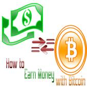 Earn Money with Bitcoin icon