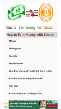 Earn Money with Bitcoin poster