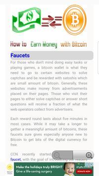 Earn Money with Bitcoin screenshot 1