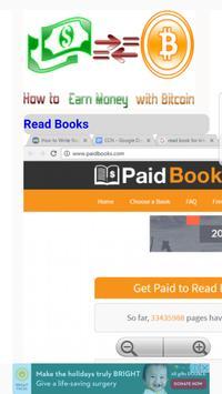 Earn Money with Bitcoin apk screenshot