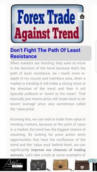 Trades Against the Trend poster