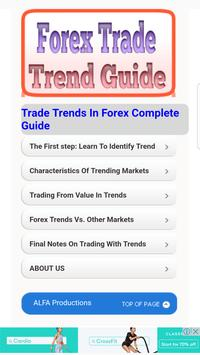 Guide for Forex Trades Trend Guide poster