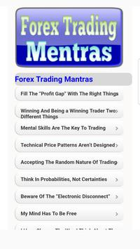 Forex Trading Mantras poster