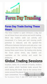 Fore Day Trading Guide screenshot 1