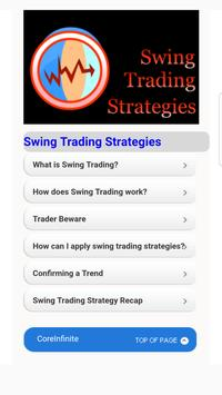 Forex Swing Strategy poster