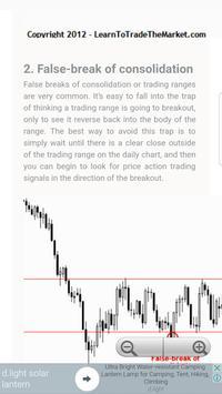 Trading Strategy False Break apk screenshot