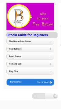 free bitcoin Learning poster