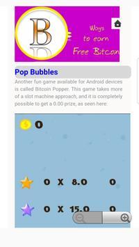 free bitcoin Learning apk screenshot