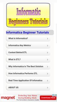 Informatica Beginner Tutorials poster