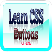 Learn CSS Buttons icon