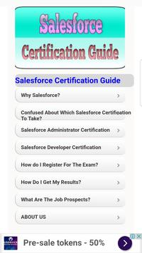 Salesforce Certification Guide poster