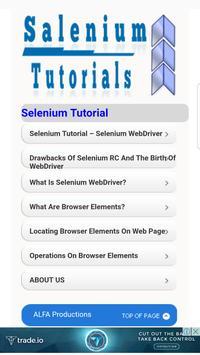 Selenium Tutorials Offline poster