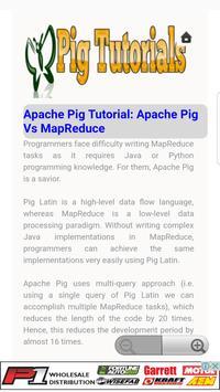 Pig Tutorial screenshot 1