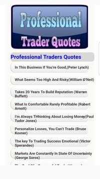 Forex Professional Traders Quotes poster