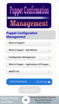 Puppet  Configuration Management poster