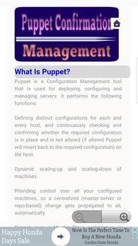Puppet  Configuration Management apk screenshot