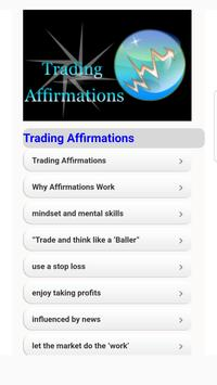 Tutorials for Forex Trading Affrimation poster
