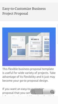 Business Project Proposal Templates screenshot 1