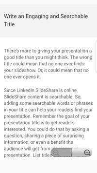 PowerPoint Presentation Tips screenshot 1