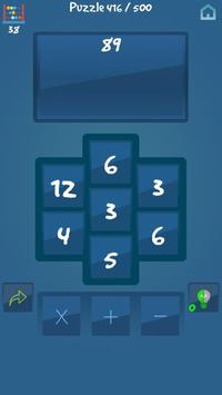 2x3x4 - Math Puzzle screenshot 1