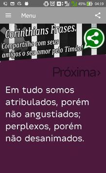 Corinthians Frases apk screenshot