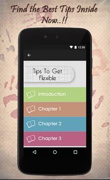 Tips To Get Flexible screenshot 1