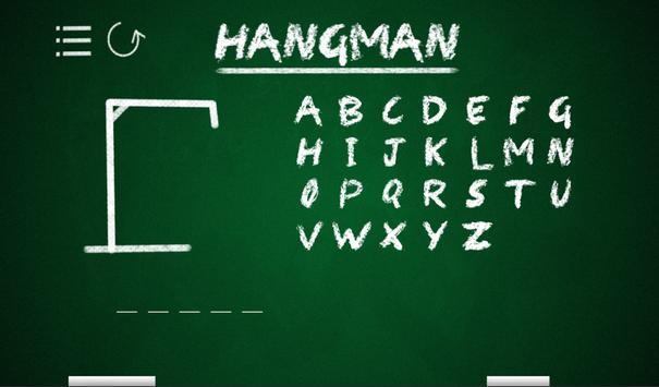 Hangman apk screenshot