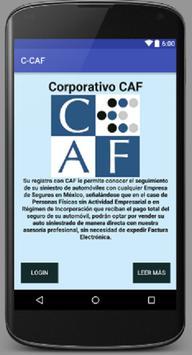 Corporativo CAF poster