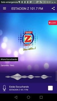RADIO  ESTACIONZ 101.7 FM poster