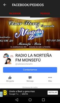 RADIO LANORTEÑA MONSEFU screenshot 4