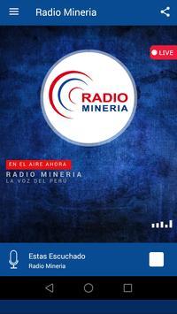 RADIO MINERIA-LA VOZ DEL PERÚ screenshot 1
