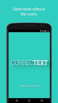 CorrecText-Text delay undo poster