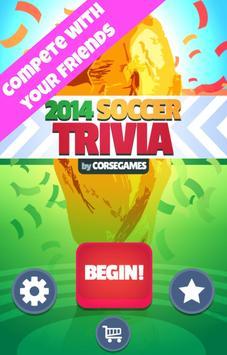 Soccer Trivia Goal poster
