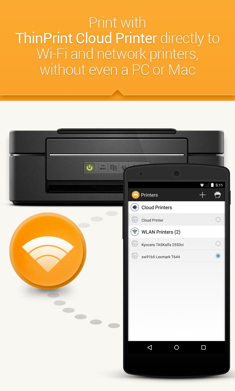 ThinPrint Cloud Printer for Android - APK Download